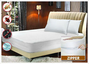 Bed-Bug-Non-Allergenic-Zippered-Mattress-Encasement-with-Dust-Mite-Protection
