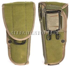 USGI-Military-Bianchi-M12-19200-M9-9MM-PISTOL-HOLDER-HOLSTER-Ambidextrous-Green
