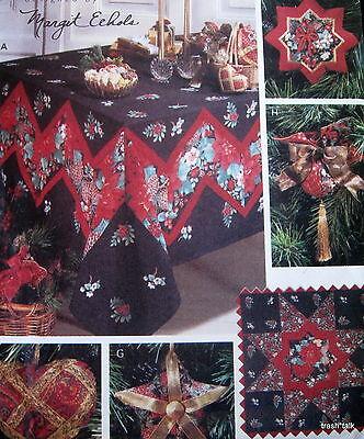 Margit Eehols Christmas Tablecloth pattern ornament treeskirt stocking