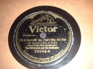 78RPM-Victor-20046-Paul-Whiteman-Im-in-Love-Russo-and-Floritos-Oriole-Ork-V