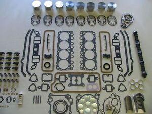 Master Engine Rebuild Kit 54 55 Oldsmobile 324 V8 NEW 1954 ...