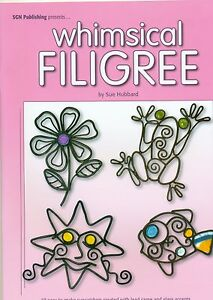 Whimsical-Filigree-Stained-Glass-Lead-Design-Book-Books