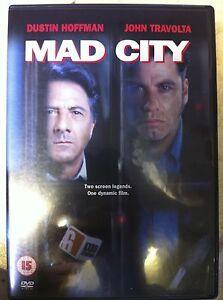 Dustin-Hoffman-John-Travolta-Pazzo-City-1997-Costa-Gavras-Thriller-Raro-UK-DVD