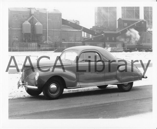 Buy 1940 Lincoln Zephyr Coupe Factory Photo Ref 52843 Online Ebay