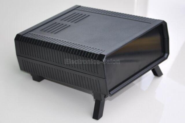 HQ Instrumentation ABS Project Enclosure Box Case, Black, 140x170x60mm.