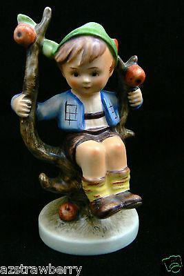 """Vintage Hummel Goebel Germany Porcelain Apple Tree Boy Figurine 4.25"""" #142 3/0"""