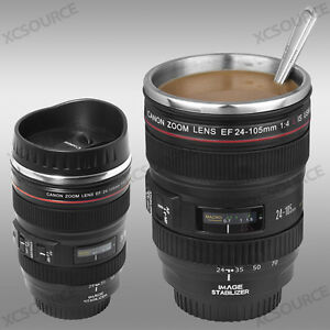 Canon-24-105mm-Lens-Mug-Tea-Coffee-Cup-Stainless-for-Photography-Fan-Gift-DC139