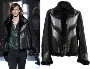 11-550-NEW-ROBERTO-CAVALLI-LEATHER-SHEARLING-BEAVER-FUR-JACKET-56-46