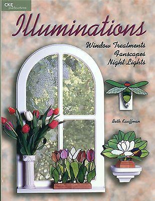 ILLUMINATIONS Stained Glass Pattern Book, Fan Lights, Night Lights,
