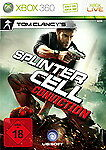 Tom Clancy's Splinter Cell: Conviction (Microsoft Xbox 360, 2010, DVD-Box)