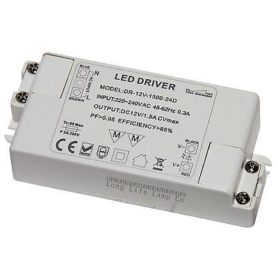 Dimmable LED Driver Power Supply Transformer 240V-DC12V for MR16, MR11 LED Strip