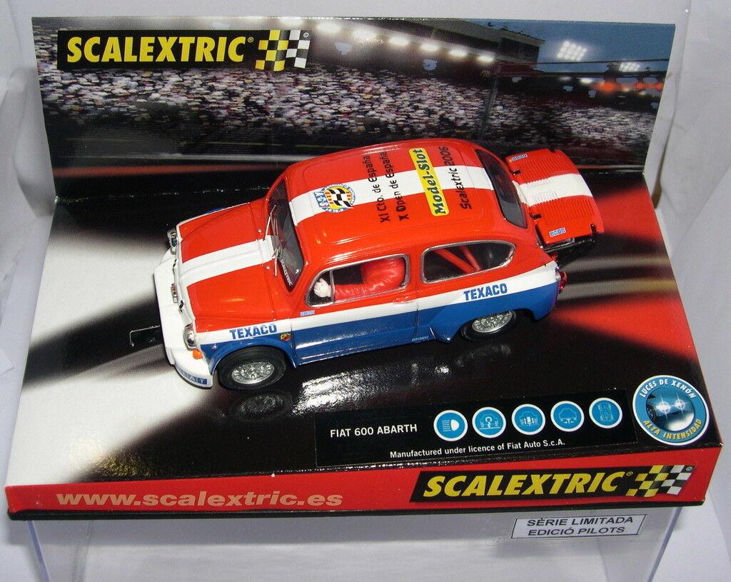 Scalextric Fiat 600 Abarth Xi-Cto Spanien-X offen Spanien '06 Off.driver