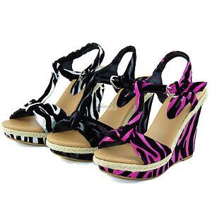Sexy-Zebra-Print-High-Heel-Dress-Platform-Club-Dance-Strappy-Wedge-Stiletto-Shoe