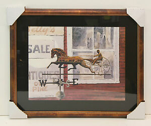 Weathervane-by-James-Colway-Poster-Framed-Art