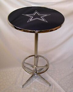 Dallas cowboys pub table brand new ebay image is loading dallas cowboys pub table brand new watchthetrailerfo