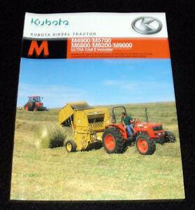 Kubota m7040 tractor Manual on