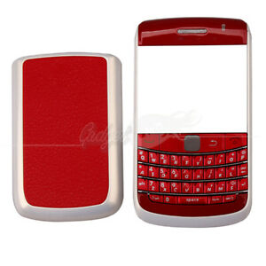 4-Piece-Housing-for-Blackberry-BOLD-9780-Red-and-White