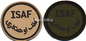 ISAF-Badge-Army-Military-Cloth-Patch