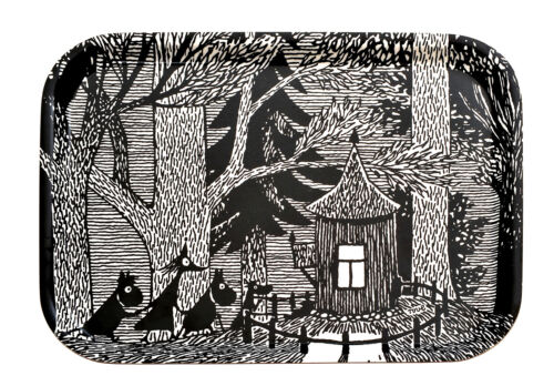 Moomin Birch Tray 27 x 20 cm Cottage in the Woods Optodesign