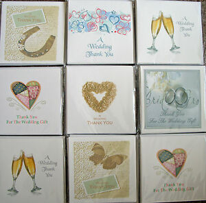 Wedding Gift Thank You Cards Uk : Home, Furniture & DIY > Celebrations & Occasions > Cards & ...