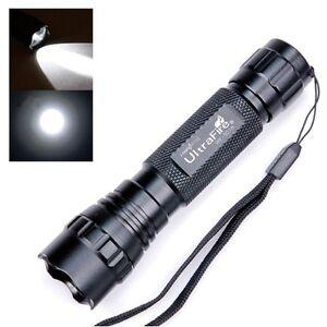 UltraFire-350-Lumens-Bright-CREE-Q5-LED-WF-501B-Tactical-Flashlight-Torch-Lamp