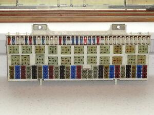 porsche 928 fuse box diagram nice used originalgenuine porsche 928 fuse panel block | ebay