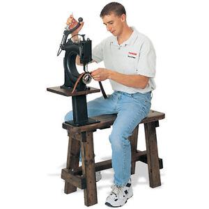 Tippmann Cobbler Bench For Boss Sewing Machine Chs 210 Ebay
