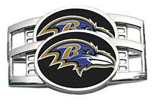 NFL Baltimore Ravens Shoe Charms - Sold in Pairs - Lace up with team spirit!
