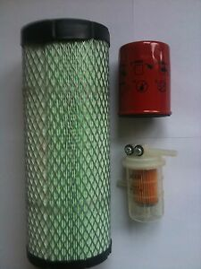 Volvo-EC25-amp-EC35-Excavator-Filter-Kit-Air-Oil-amp-Fuel-Filters