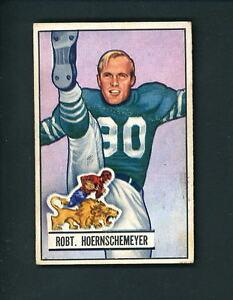 1951-Bowman-Football-63-Robert-Hoernschemeyer-Lions