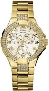 Guess-G13537L-Gold-Status-In-the-Round-Ladies-Watch-New