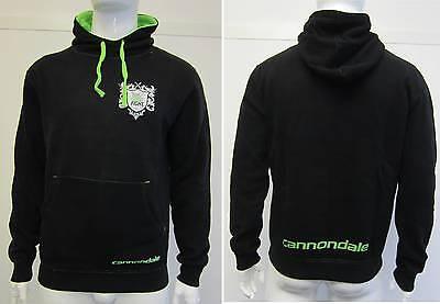 """Cannondale """" The Good Fight """" Hoodie Kapuzenpulli Kapuzensweater Black"""