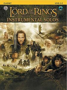 LORD-OF-THE-RINGS-MOVIE-TRILOGY-INSTRUMENTAL-PLAY-ALONG-BOOK-CD-CLARINET