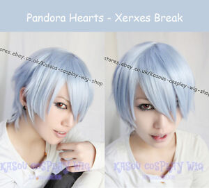 Pandora-Hearts-Xerxes-Break-light-blue-Cosplay-Wig