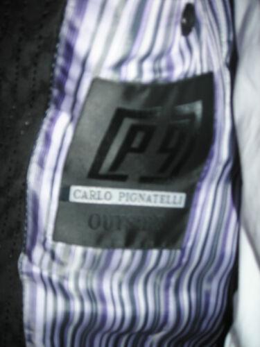 Groom 48 Carlo Suit Firmato Wedding T Designer Uomo Giacca Pignatelli Eqw0BB