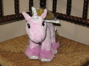Animal Alley ToysRuS Soft Pink Unicorn 8 Inch Soft Plush Toy 2000