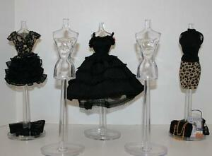 CRYSTAL-CLEAR-FASHION-MANNEQUIN-To-Display-Barbies-Fashions