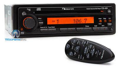 NAKAMICHI CD400 AM/FM/CD CAR AUDIO STEREO RADIO SOUND QUALITY UNIT INCOMPLETE