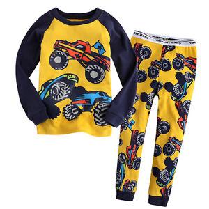 NWT-VaenaitBaby-Baby-amp-Toddler-Kid-039-s-Boy-Girl-Sleepwear-Pajama-Set-034-2012-Hummer-034