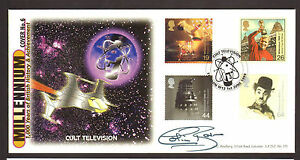 GB-A-G-BRADBURY-FDC-ENTERTAINERS-TALE-SIGNED-BY-COLIN-BAKER-LTD-EDITION