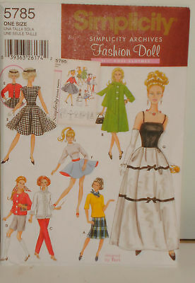 Barbie Doll Clothing Pattern --- New Vintage Archives  --Remake
