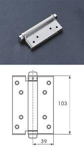 Charnieres Inox Ferme Porte Ressort Réglable Portillon Extergache - Ferme porte electrique