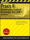 CliffsNotes Praxis II: Mathematics Content Knowledge Test (0061) by Ennis Donice McCune, Sandra Luna McCune (Paperback, 2012)
