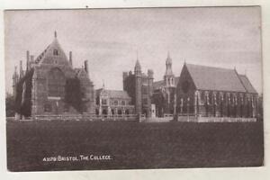 BRISTOL-THE-COLLEGE-Clifton-Postcard