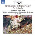 Gerald Finzi - Finzi: Intimations of Immortality; For St. Cecilia (2006)