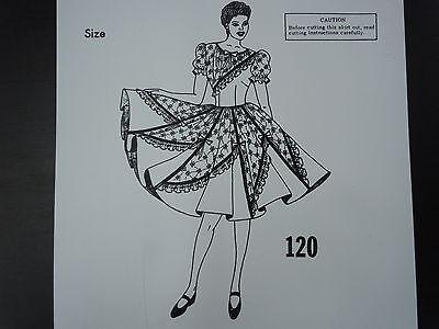 New!! C & C Originals Square Dance Pattern 120