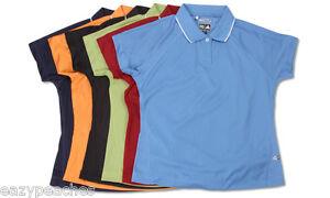 ADIDAS-GOLF-Ladies-S-L-XL-2XL-CLIMACOOL-Womens-Mesh-dri-fit-Polo-Sport-Shirt-a09