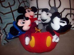 Walt-Disney-70-Happy-Years-Plush-Stuffed-Animal-Mickey-Mouse-Set