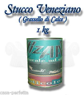 (EUR 13,80/kg) Stucco Veneziano Grassello di Calce 1 kg Dose Spachtelputz