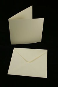 50-x-Ivory-6-034-x-6-034-Square-Card-Blanks-and-Envelopes